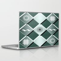 pyramid Laptop & iPad Skins featuring Pyramid by MJ Mor