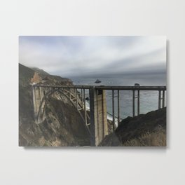 Looking through Bixby Metal Print