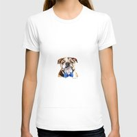 bulldog T-shirts featuring bulldog by Heathercook
