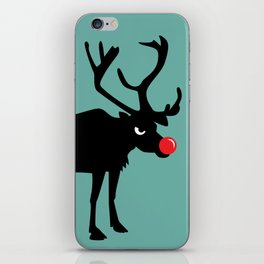 Angry Animals: Rudolph the red nosed Reindeer iPhone Skin