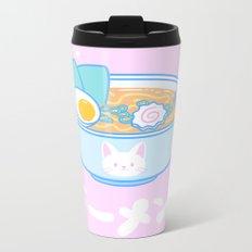 Cute Ramen Metal Travel Mug
