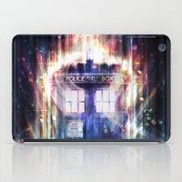 tardis iPad Cases featuring Tardis by jasric