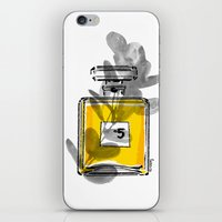 perfume iPhone & iPod Skins featuring Perfume by Magdalena Pankiewicz