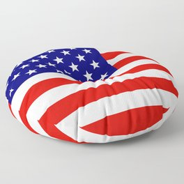 American Flag Floor Pillow