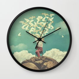 Pigeon Composer Wall Clock