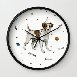 playful jack Wall Clock