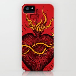 Bleeding Heart iPhone Case