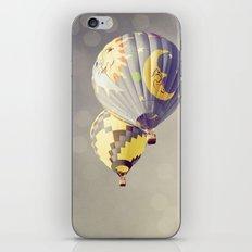 Moon Balloon iPhone & iPod Skin