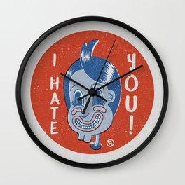 Hater Vintage Kid Wall Clock