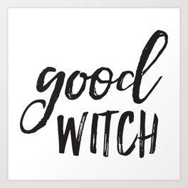Good Witch Art Print