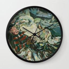 Nightmare in the Tempest: Freddy Krueger Wall Clock