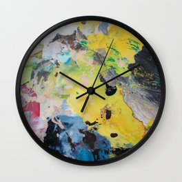 The Artist's Remains #1 Wall Clock