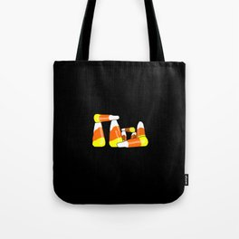 Candy Corn Henge Tote Bag