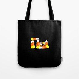 Candy Corn Henge Tote Bag