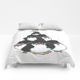 Penguin Tree Comforters