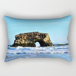 Ocean Arches at Natural Bridges Rectangular Pillow