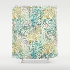 Flowing sea 2 Shower Curtain