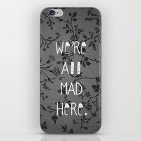 mad iPhone & iPod Skins featuring Mad by Cactus And Fog