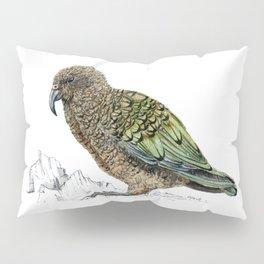 Mr Kea, New Zealand parrot Pillow Sham