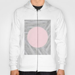 Fashion and pink marble Hoody