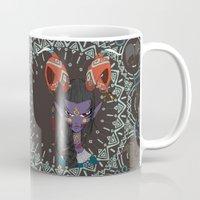 zodiac Mugs featuring Zodiac : Capricorn by Det Tidkun