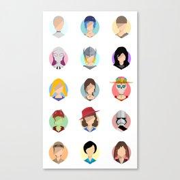 Heroines Canvas Print