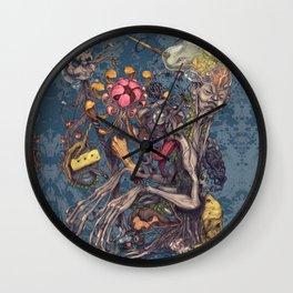 Transmigration color Wall Clock