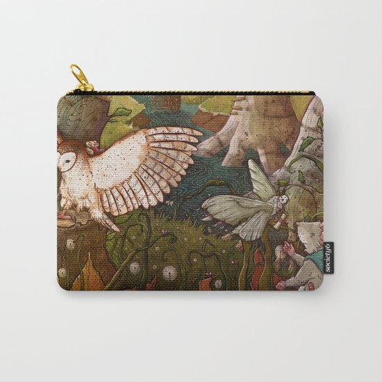 Of Mice and Owls Carry-All Pouch