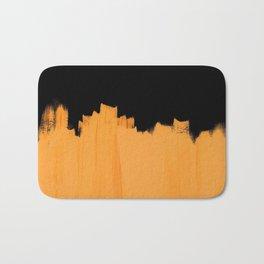Orange impact Bath Mat