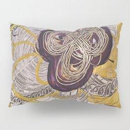 Golden Toroidal Toroids of Love Pillow Sham
