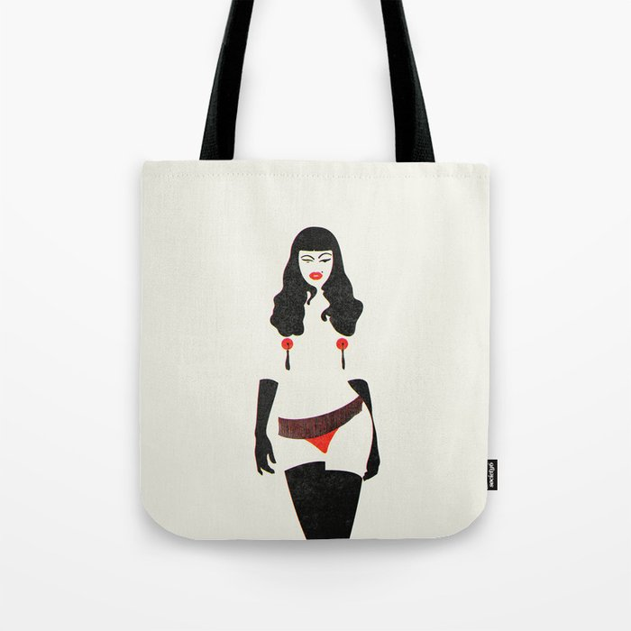A Wink & A Smile Tote Bag