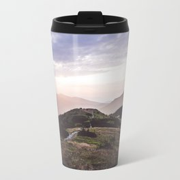good morning mountains Travel Mug