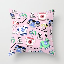 Ice Hockey Winter sports Throw Pillow