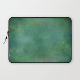 Looking into the depths of green Laptop Sleeve