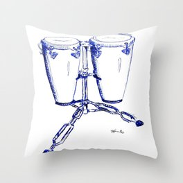18 Minutes Throw Pillow