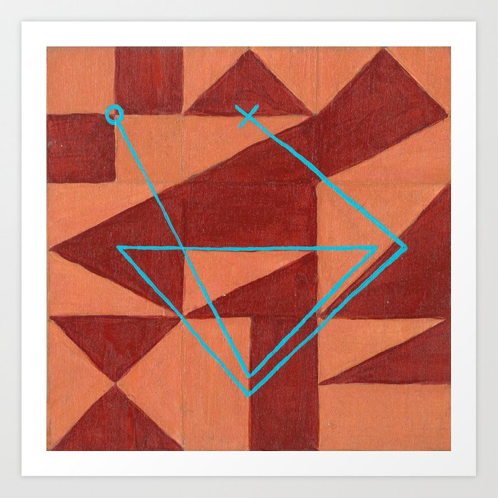 Magic Square #1 (Lo Shu) Art Print