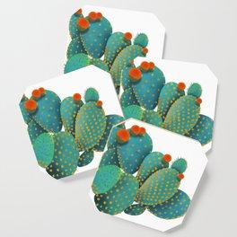 Prickly Pear Cactus Coaster