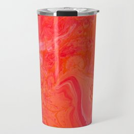 Paint Pouring 3 Travel Mug