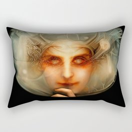 The Chimera (Black) Rectangular Pillow