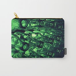 Green Bottles Carry-All Pouch