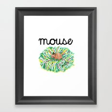 Theatre Mouse Framed Art Print