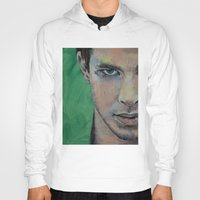 street fighter Hoodies featuring Fighter by Michael Creese