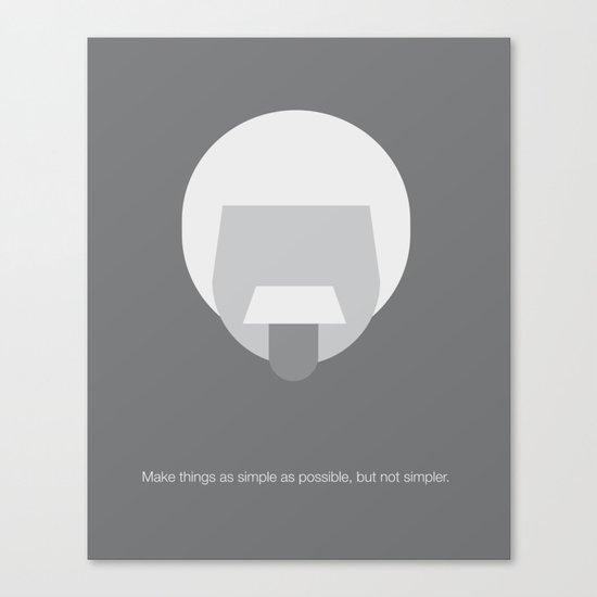 FC- Einstein Canvas Print