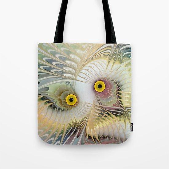 Abstract Owl Tote Bag