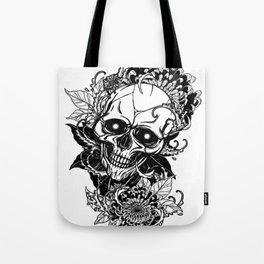 Skull wreath, custom gift design Tote Bag