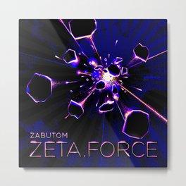 Zeta Force artwork Metal Print