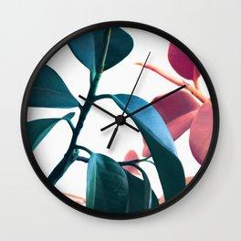 Plants II Wall Clock