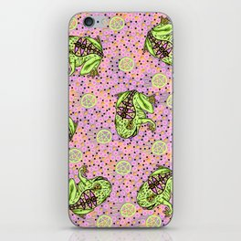 pentragram and frog iPhone Skin