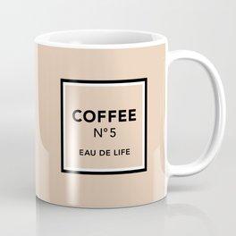 Latte No5 Coffee Mug