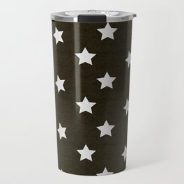 Christmas Stars #xmas #pattern #star #festive #home #decor #kirovair #christmas Travel Mug